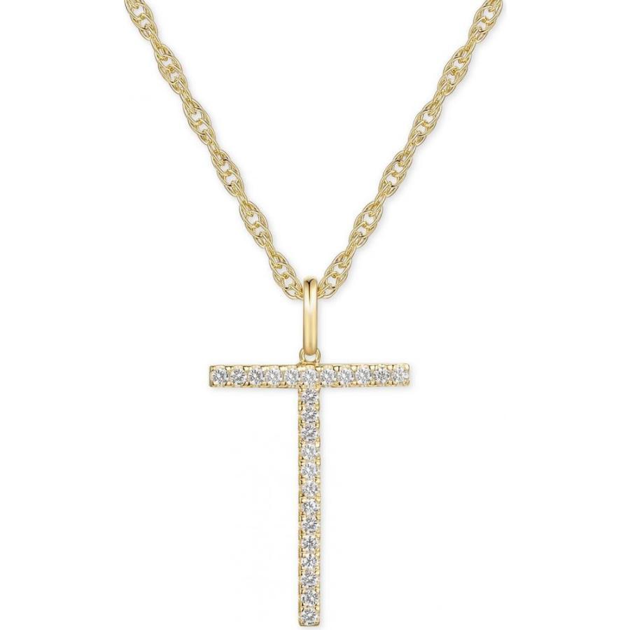 安い割引 メイシーズ Macy's ユニセックス ネックレス ジュエリー・アクセサリー Diamond Initial 18