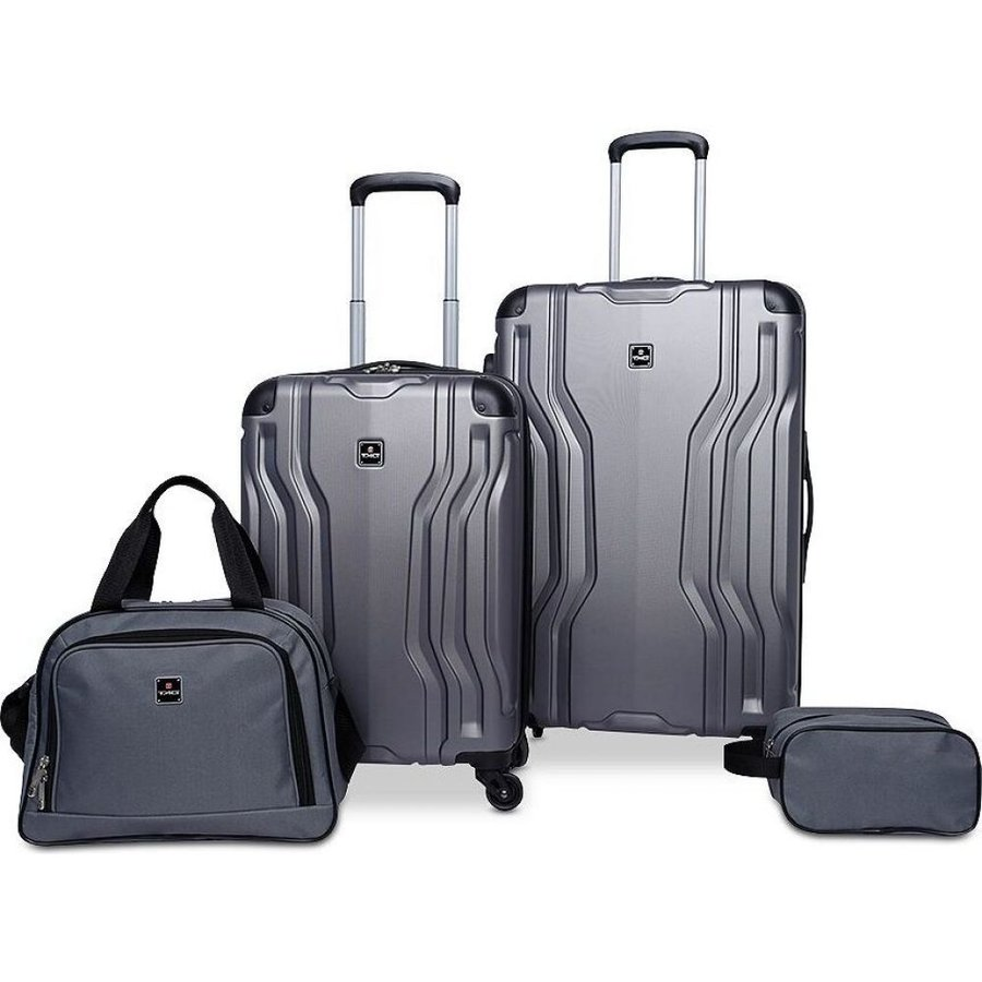タグ Tag レディース スーツケース・キャリーバッグ バッグ Legacy 4-Pc. Luggage Set Charcoal
