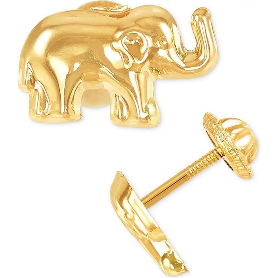 【限定価格セール!】 メイシーズ 10k Macy's レディース イヤリング・ピアス ジュエリー・アクセサリー Elephant Elephant Macy's Stud Earrings in 10k Gold Gold, メイ フェアリー:5af0106b --- photoboon-com.access.secure-ssl-servers.biz