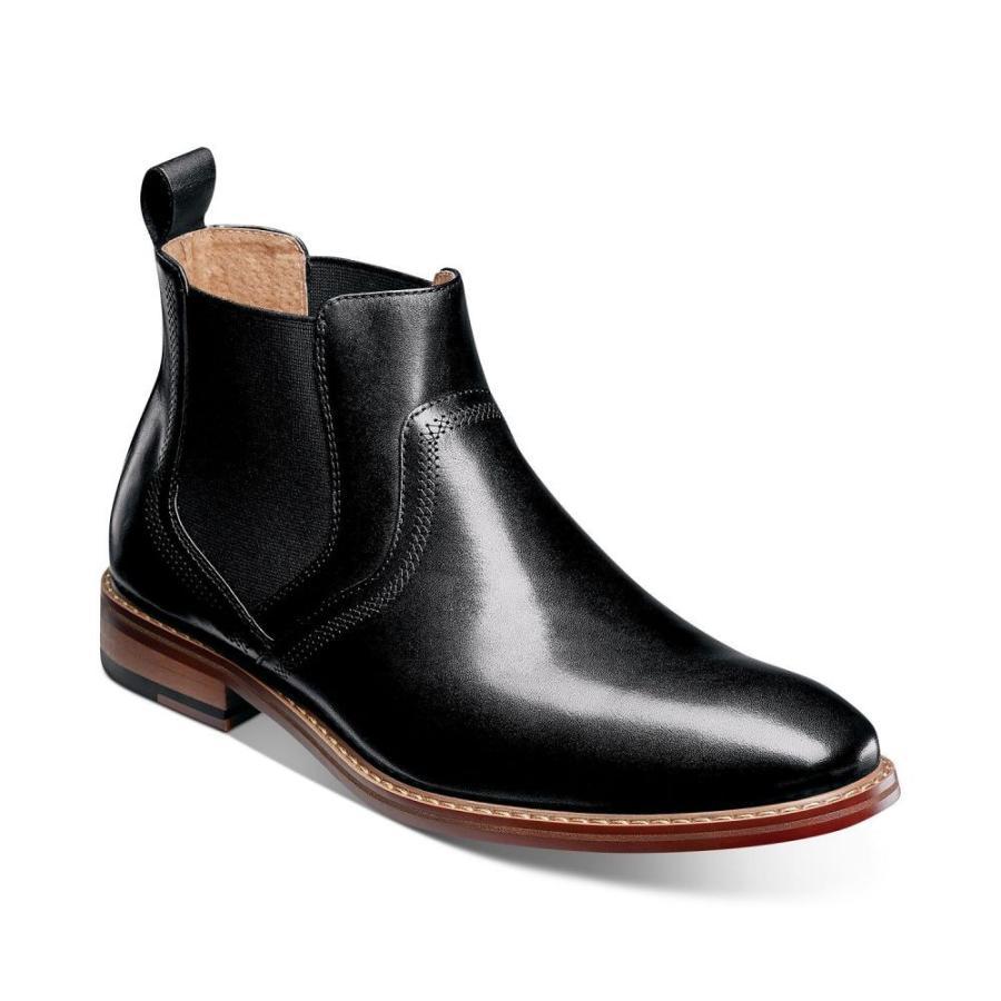 非常に高い品質 ステイシー Boots アダムス Stacy Adams メンズ Adams ブーツ シューズ Chelsea・靴 Altair Plain-Toe Chelsea Boots Black, ニイツシ:189c6f31 --- sonpurmela.online