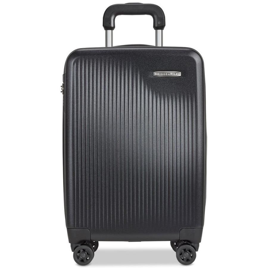 ブリッグスアンドライリー Briggs & Riley レディース スーツケース・キャリーバッグ バッグ International Carry-On Expandable Spinner Black