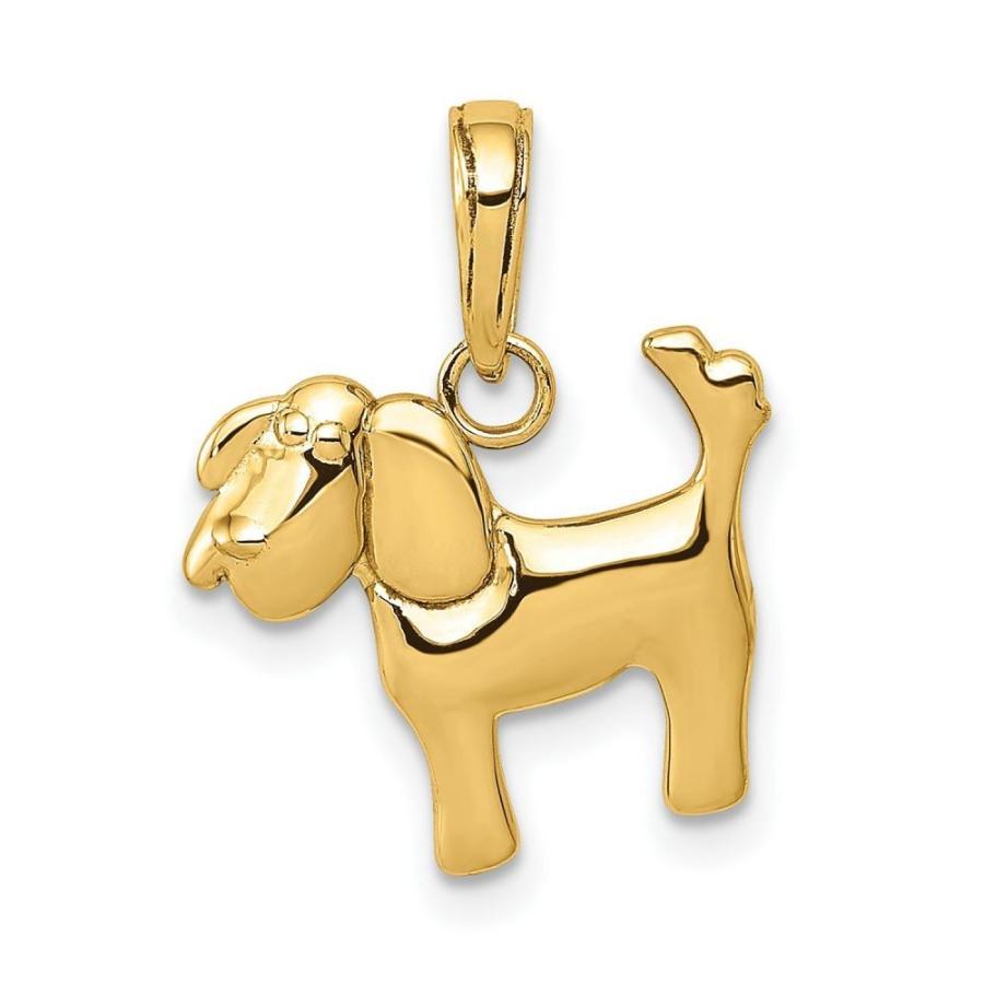 【公式ショップ】 メイシーズ Macy's レディース Charm ジュエリー Macy's・アクセサリー チャーム Polished Dog Gold Charm in 14k Yellow Gold Gold, カンザキマチ:bafb64f4 --- airmodconsu.dominiotemporario.com