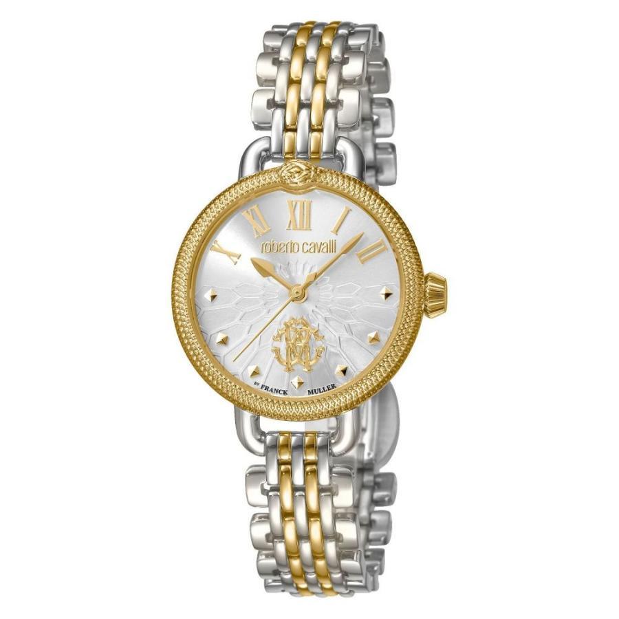 人気商品 ロベルト カヴァリ Roberto Gold Cavalli Bracelet レディース 腕時計 30mm By Franck Muller Swiss Quartz Two-Tone Gold Stainless Steel Bracelet Watch, 30mm Two Tone Gold, ヒガシネシ:b092bba3 --- airmodconsu.dominiotemporario.com