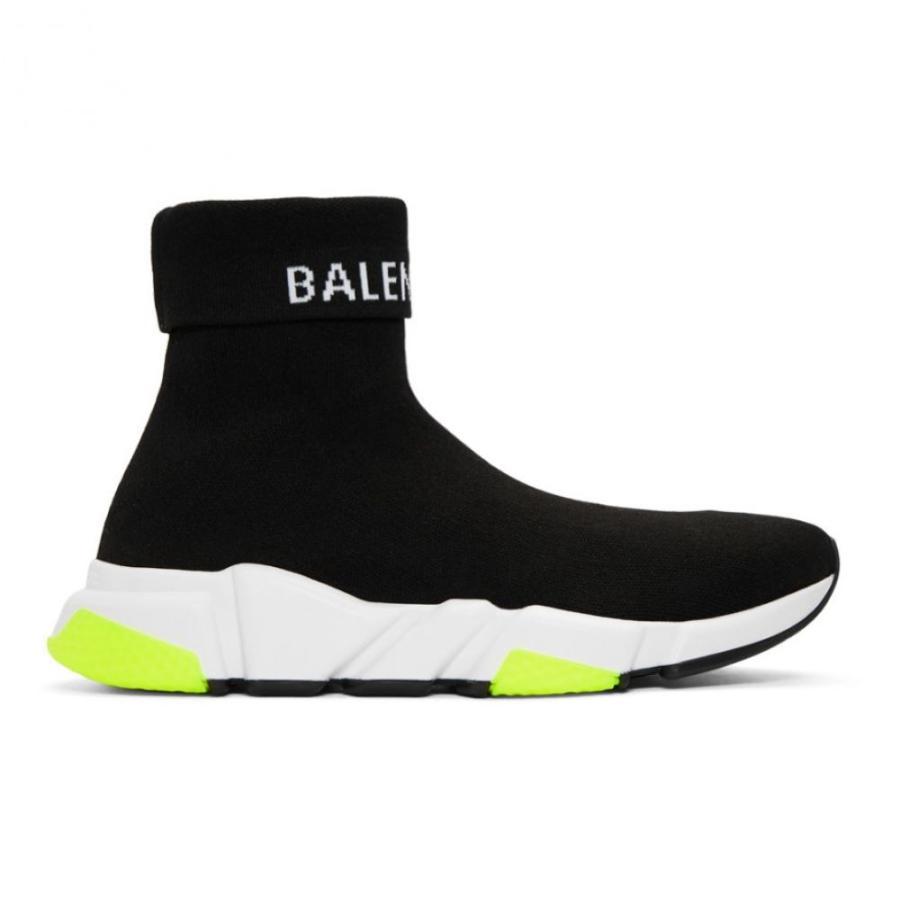 100%正規品 バレンシアガ Balenciaga メンズ メンズ スニーカー Balenciaga シューズ・靴 Black Logo Speed Sneakers Sneakers, 税務会計ソフト NJ Direct Shop:7bae5819 --- help-center.online