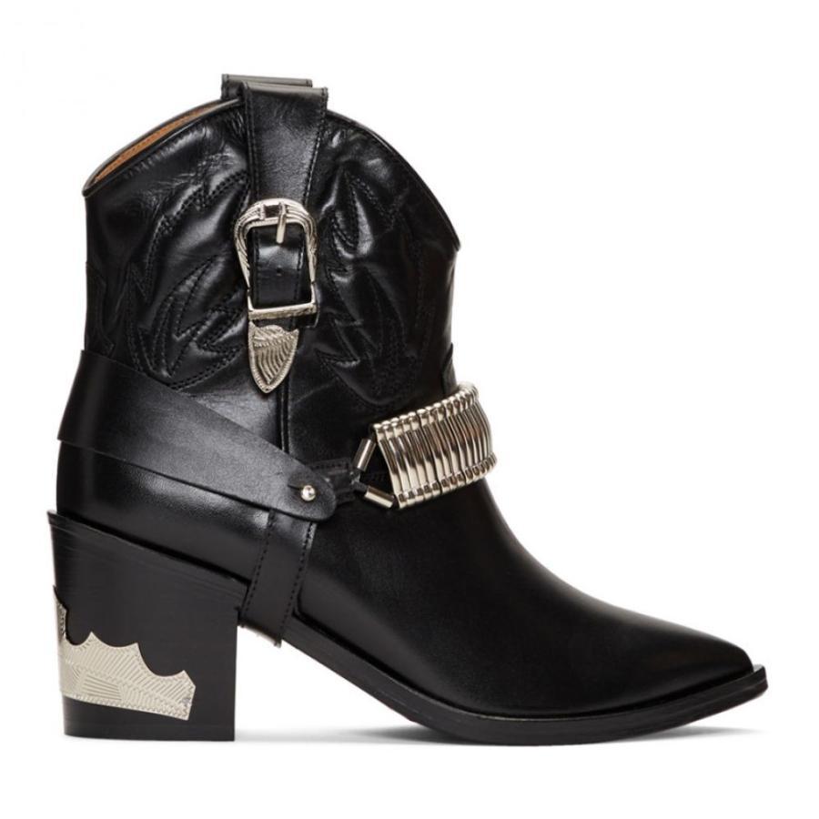 人気沸騰ブラドン トーガ Toga Pulla レディース レディース Detail ブーツ シューズ・靴 Western Black Western Detail Boots Black, マーキュリードッグ:fa30ae65 --- chizeng.com