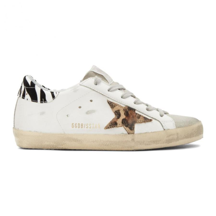 当店の記念日 ゴールデン スニーカー Goose グース Golden Goose レディース スニーカー Superstar シューズ・靴 White Leopard Superstar Sneakers White, hono(照明インテリア雑貨):d74474dd --- fresh-beauty.com.au