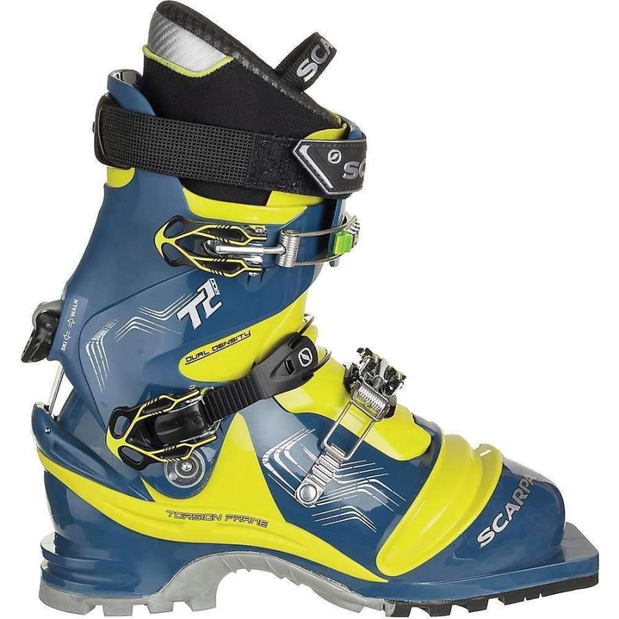 スカルパ Scarpa メンズ スキー・スノーボード ブーツ シューズ・靴 T2 Eco Boot True 青/Acid 緑