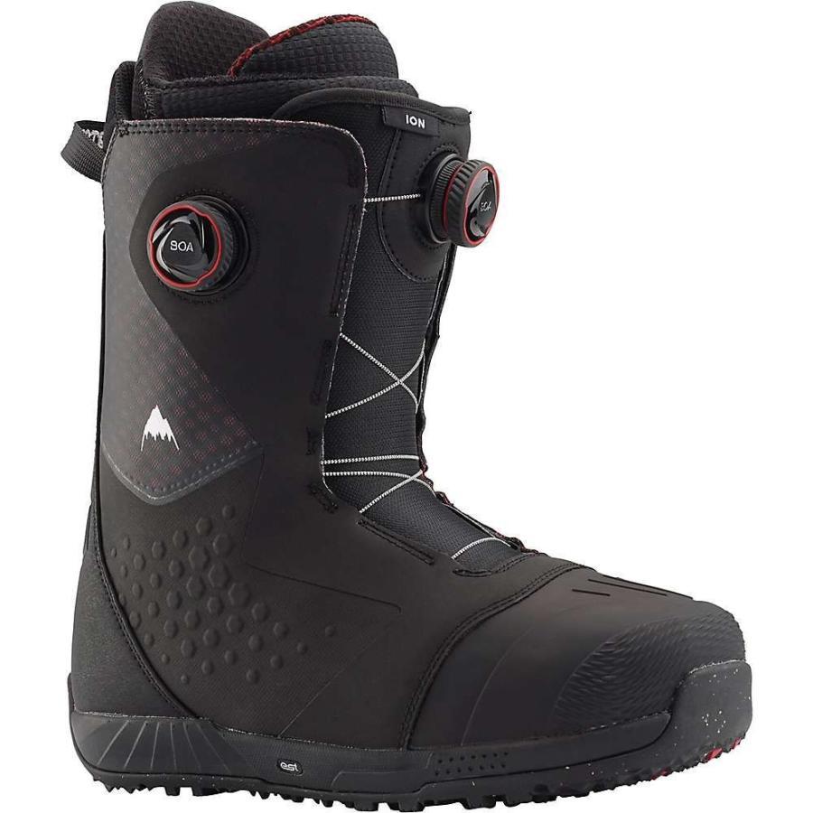 バートン Burton メンズ スキー・スノーボード ブーツ シューズ・靴 Ion Boa Snowboard Boot 黒/赤