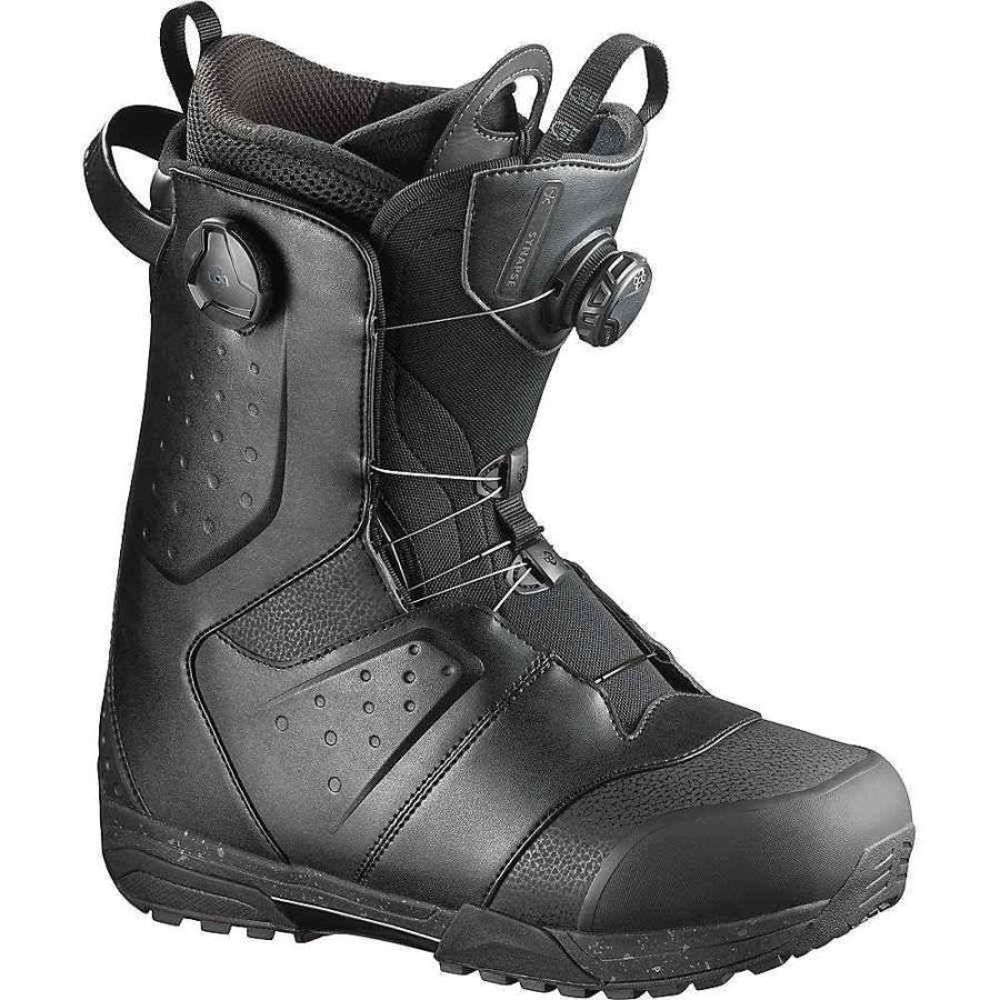 【お得】 サロモン Salomon メンズ スキー・スノーボード ブーツ シューズ・靴 synapse focus boa snowboard boot Black, 上山市 eefe28ad