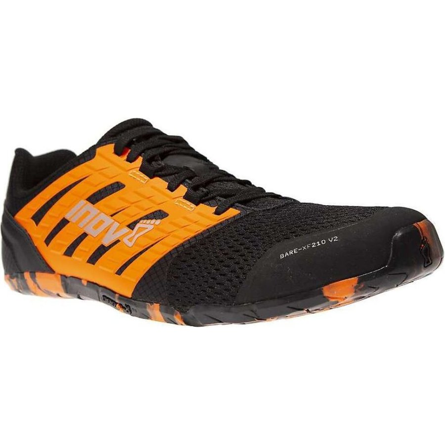 イノヴェイト Inov8 メンズ ランニング・ウォーキング シューズ・靴 Bare-XF 210 V2 Shoe Black/Orange|fermart-shoes