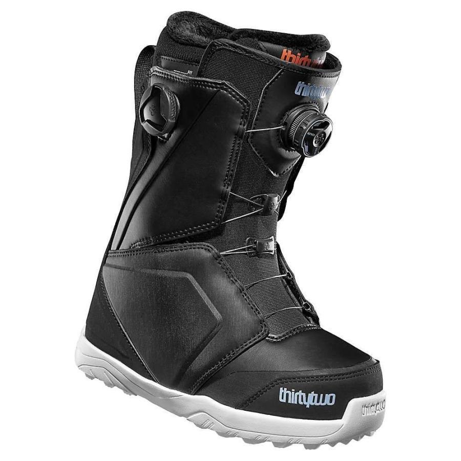 サーティーツー Thirty Two レディース シューズ・靴 スキー・スノーボード Lashed Double BOA Boot 黒 / 青 / 白い