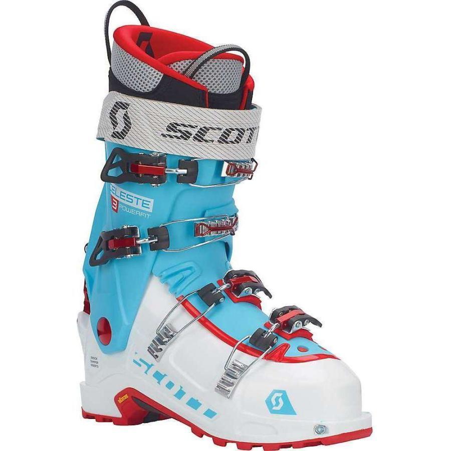 スコット Scott USA レディース シューズ・靴 スキー・スノーボード Celeste III Ski Boot 白い / Bermuda 青