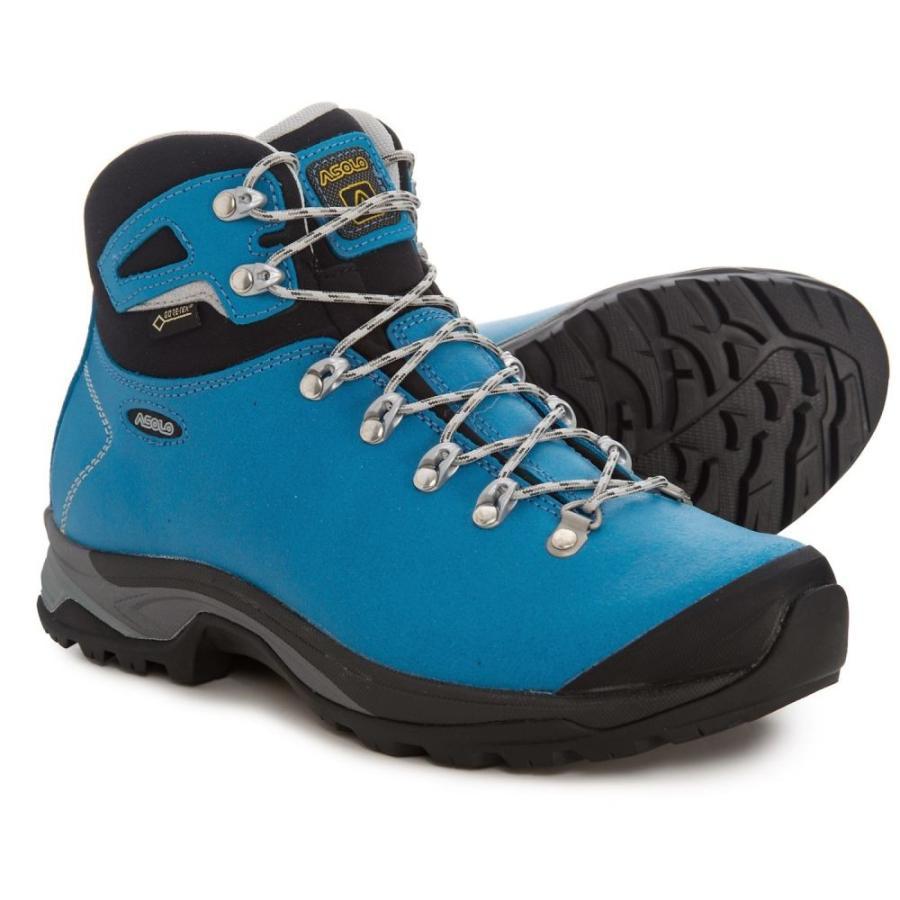アゾロ Asolo レディース ハイキング・登山 ブーツ シューズ・靴 Thyrus GV Gore-Tex Hiking Boots - Waterproof 青 Sea/黒