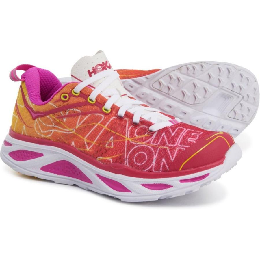 ホカ オネオネ Hoka One One レディース ランニング・ウォーキング シューズ・靴 Huaka 2 Running Shoes Virtual ピンク/Neon Fuchsia
