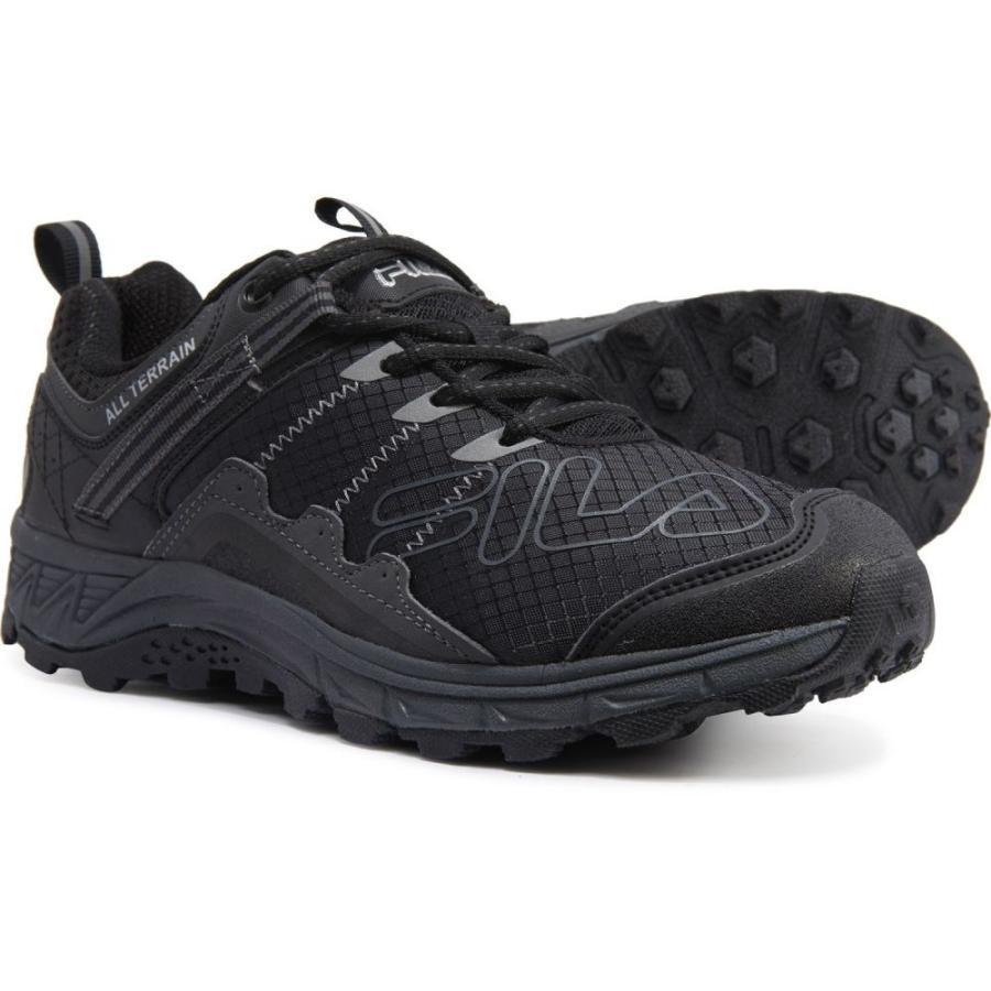 フィラ Fila メンズ ランニング・ウォーキング シューズ・靴 Blowout 19 Trail Running Shoes 黒/Ebony/Metallic 銀