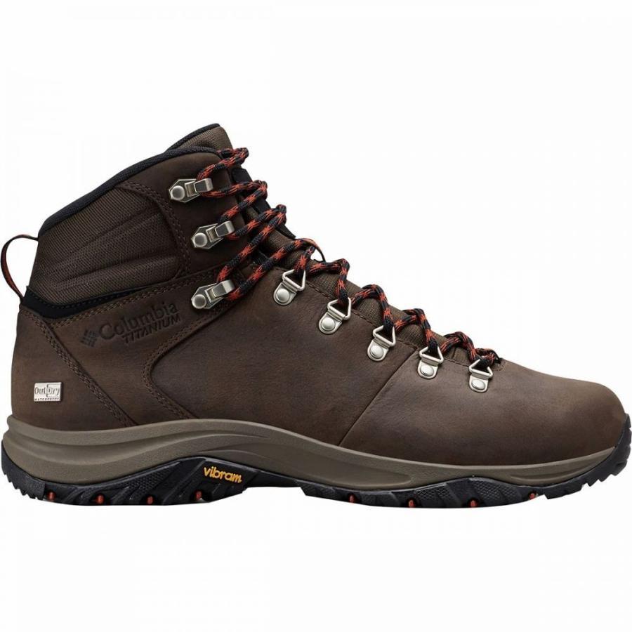コロンビア Columbia メンズ ハイキング・登山 ブーツ シューズ・靴 100mw titanium outdry hiking boot Cordovan/Dark Adobe