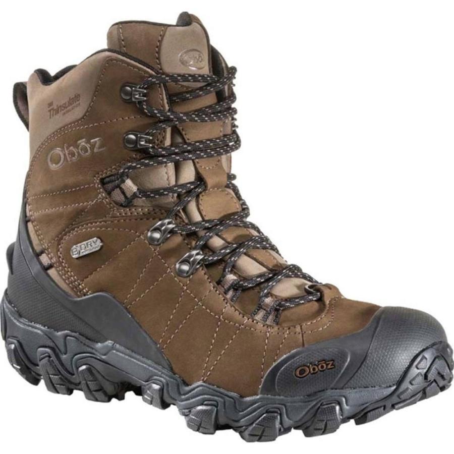 オボズ Oboz メンズ スノー シューズ・靴 Bridger 8in Insulated BDry Boot Walnut