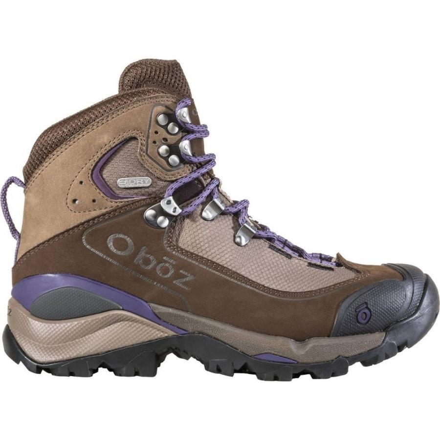 オボズ レディース シューズ・靴 ハイキング・登山 Wind River III Backpacking Boot Walnut/Plum