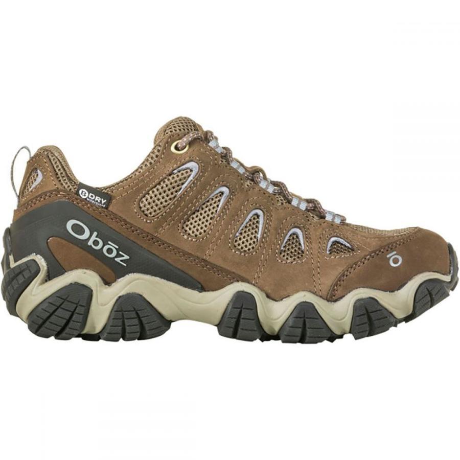オボズ Oboz レディース シューズ・靴 ハイキング・登山 Sawtooth II Low B - Dry Hiking Boot - Wide Brindle/Tradewinds Blue