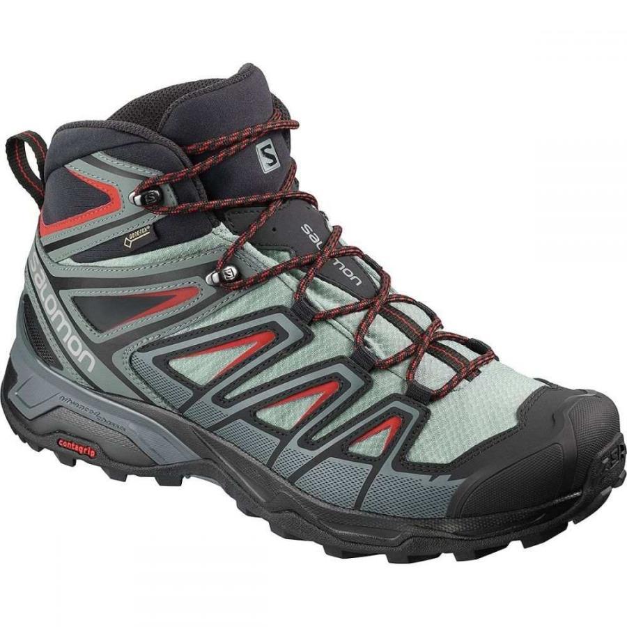 サロモン Salomon メンズ シューズ・靴 ハイキング・登山 X Ultra 3 Mid GTX Hiking Boots Lead/Stormy Weather/Bossa Nova