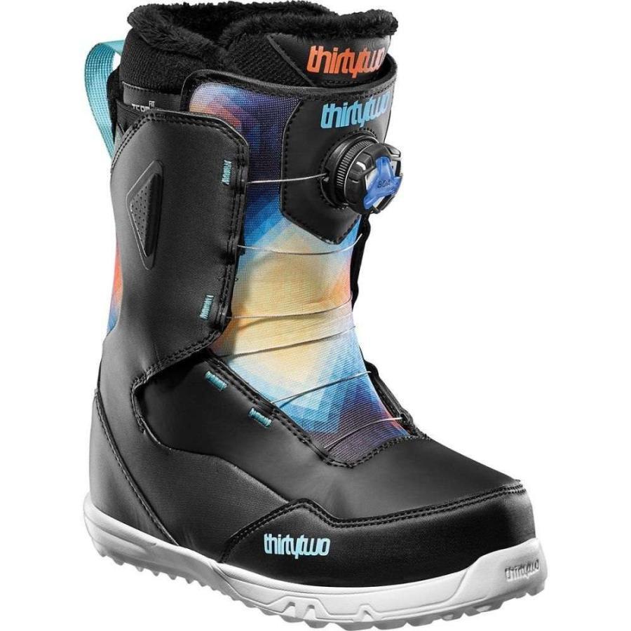 速くおよび自由な サーティーツー ThirtyTwo レディース スキー・スノーボード ブーツ シューズ・靴 Zephyr BOA Snowboard Boot Black/Blue/White, GUARD 334a13f0
