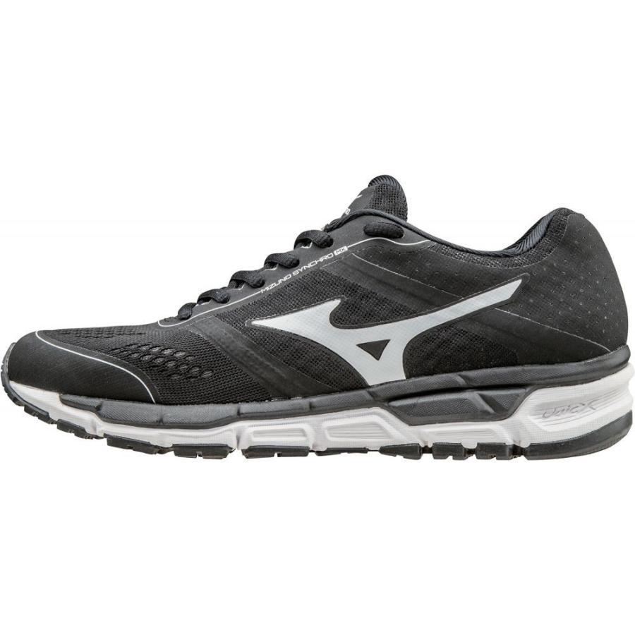 ミズノ MIZUNO レディース 野球 スニーカー シューズ・靴 synchro mx trainer softball shoes 黒/白い