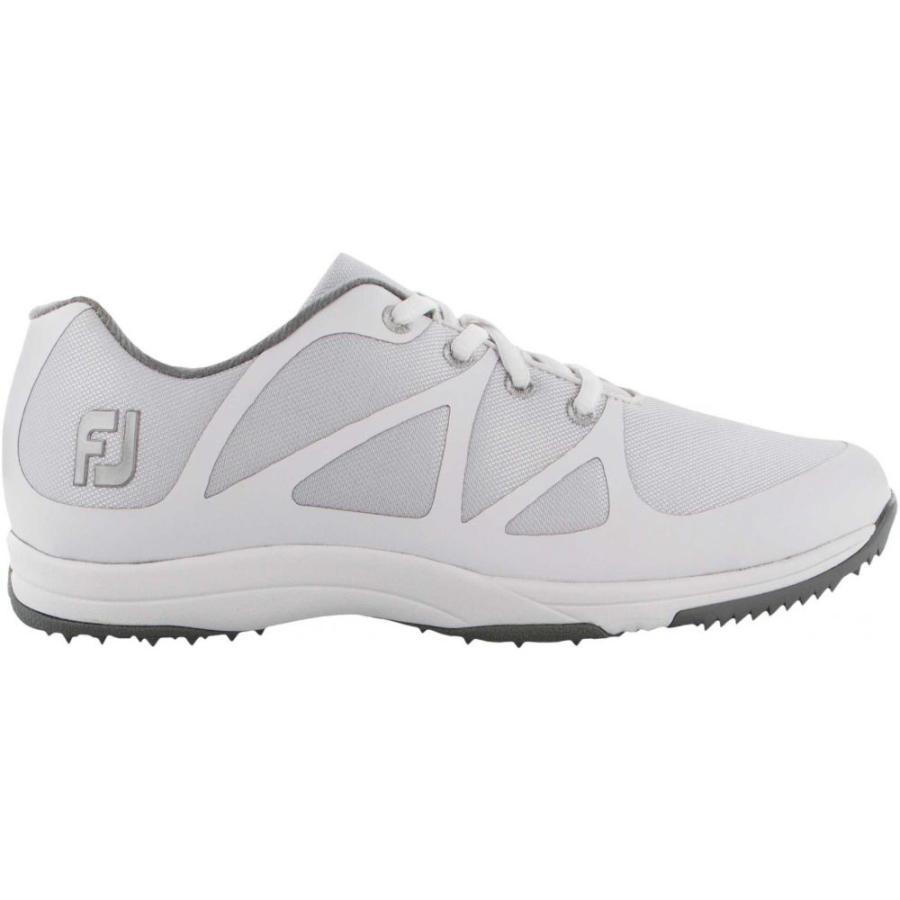 フットジョイ FootJoy レディース ゴルフ シューズ・靴 leisure golf shoes 白い/銀