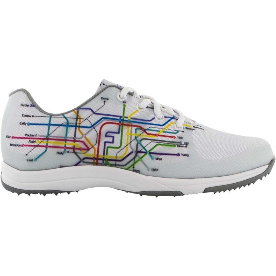 フットジョイ FootJoy レディース ゴルフ シューズ・靴 leisure golf shoes 白い/Subway