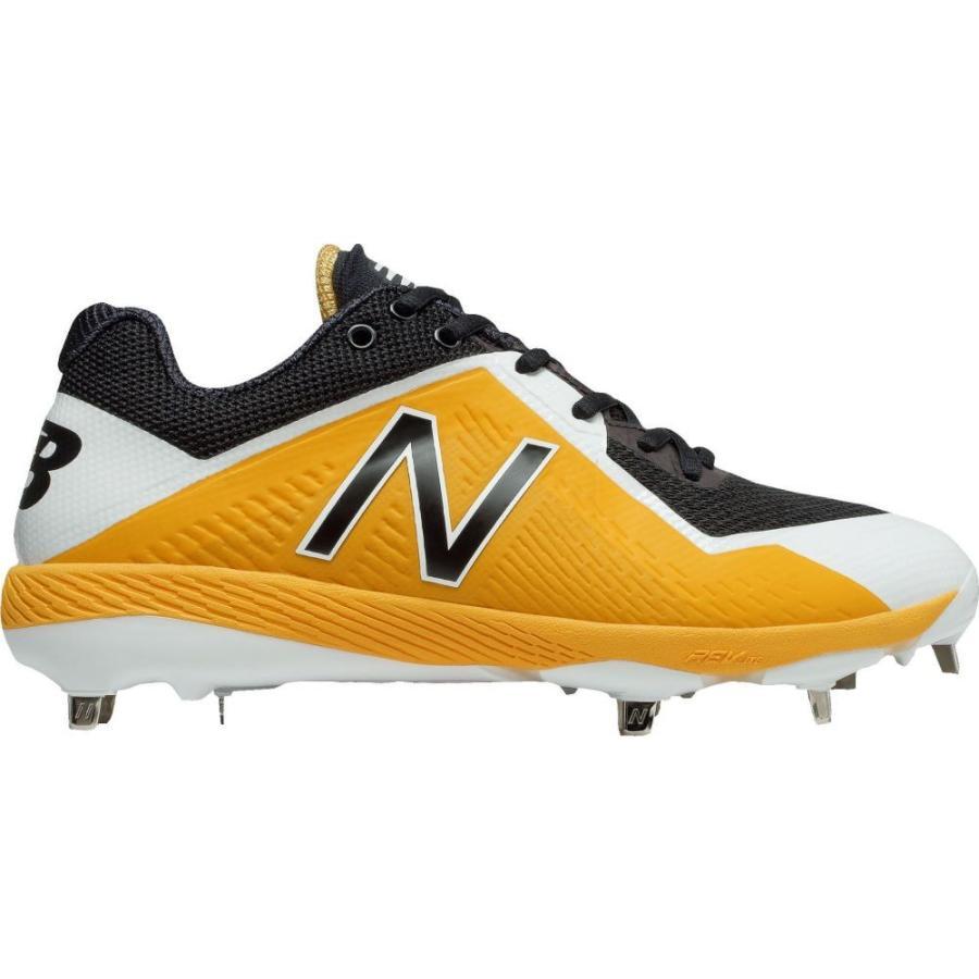 ニューバランス New Balance メンズ 野球 スパイク シューズ・靴 4040 v4 metal baseball cleats 黄/黒