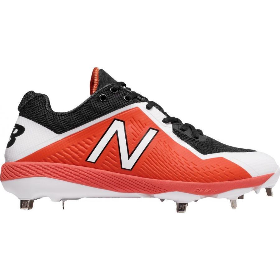 ニューバランス New Balance メンズ 野球 スパイク シューズ・靴 4040 v4 metal baseball cleats オレンジ/黒