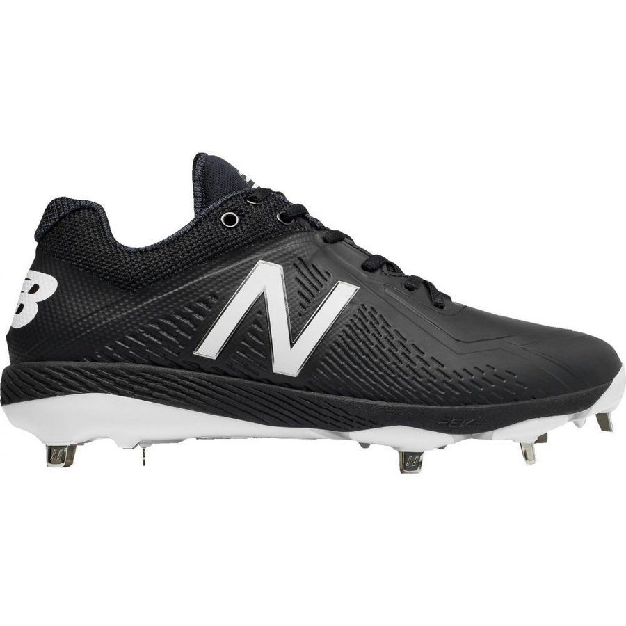 ニューバランス New Balance メンズ 野球 スパイク シューズ・靴 4040 v4 metal synthetic baseball cleats 黒/黒