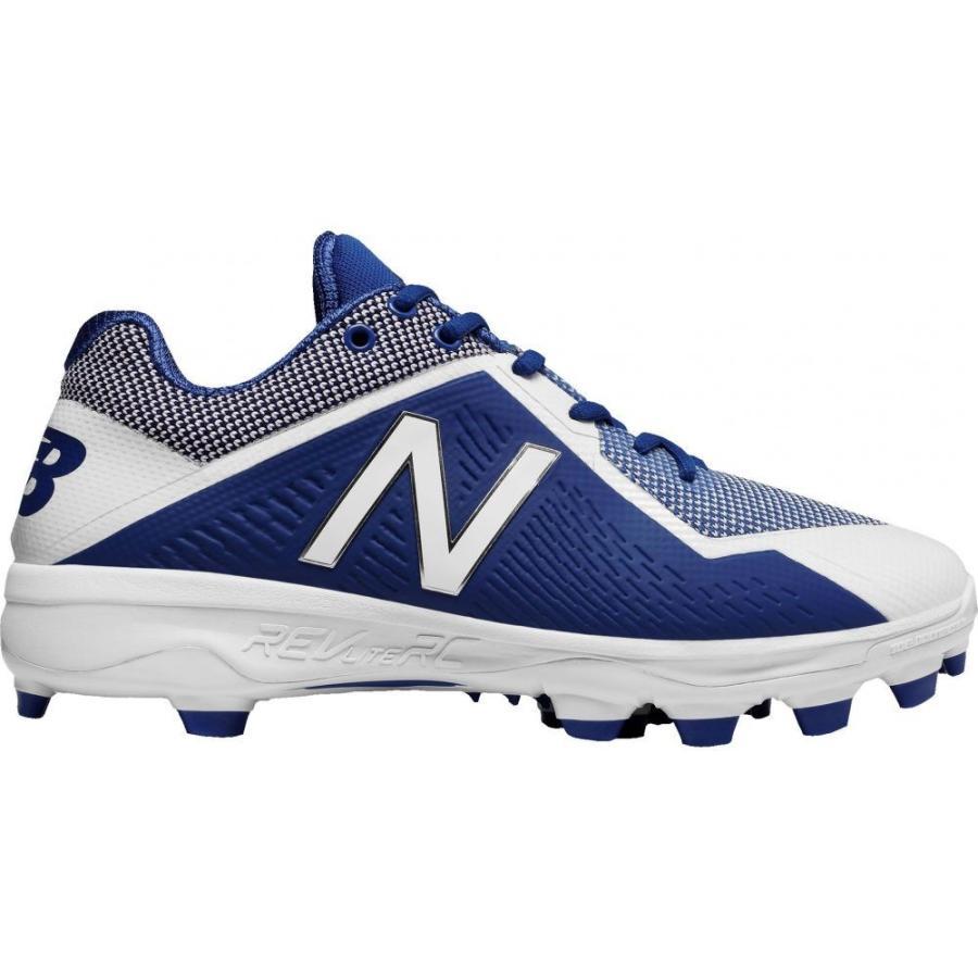 ニューバランス New Balance メンズ 野球 スパイク シューズ・靴 4040 v4 tpu baseball cleats 青/白い
