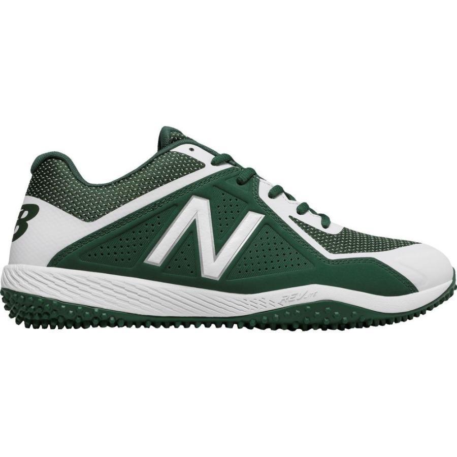 ニューバランス New Balance メンズ 野球 スパイク シューズ・靴 4040 v4 turf baseball cleats 緑/白い