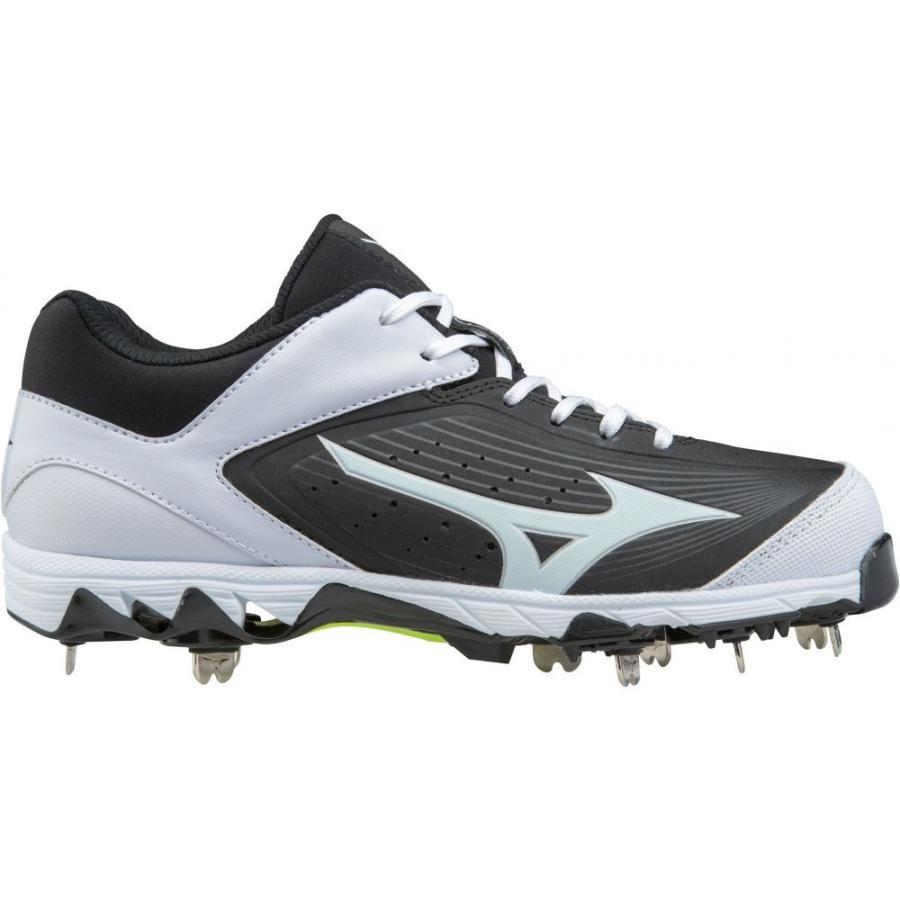 ミズノ Mizuno レディース 野球 スパイク シューズ・靴 9 spike swift 5 fastpitch softball cleats 黒/白い