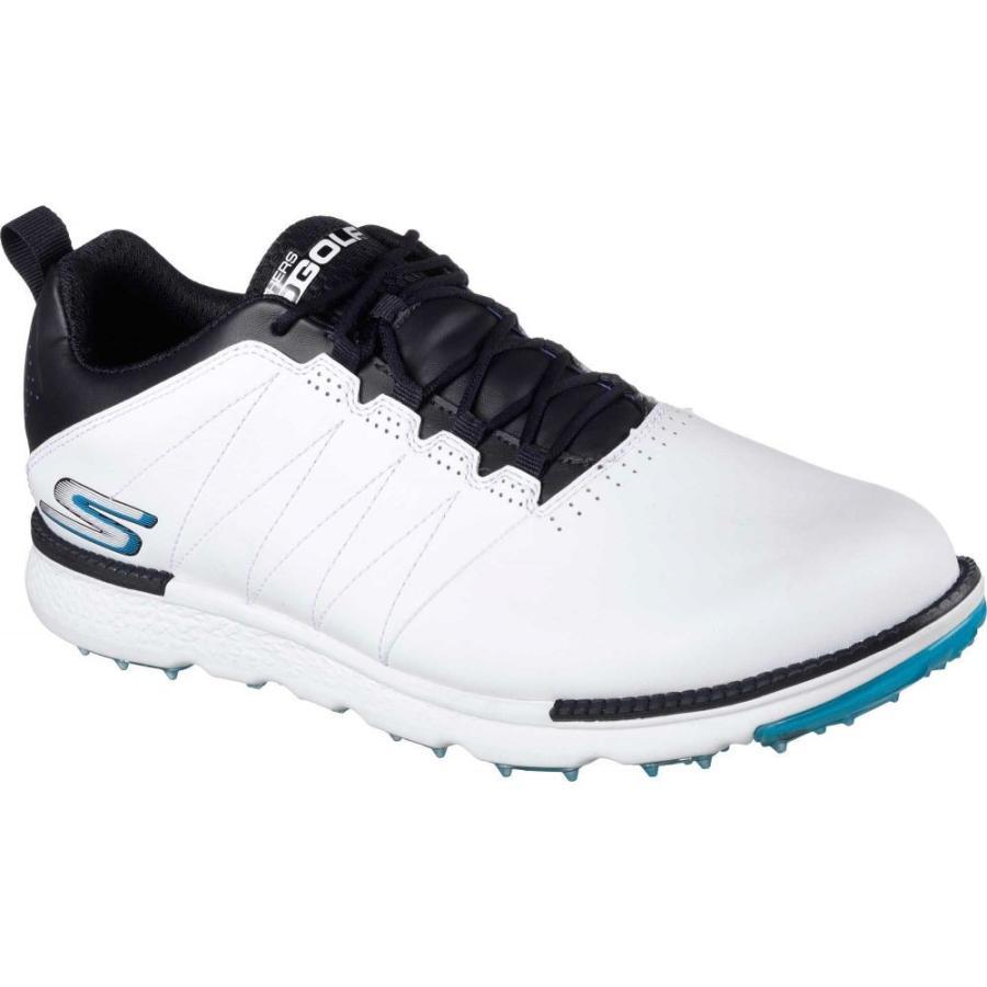 スケッチャーズ Skechers メンズ ゴルフ シューズ・靴 go golf elite v.3 golf shoes 白い/Navy