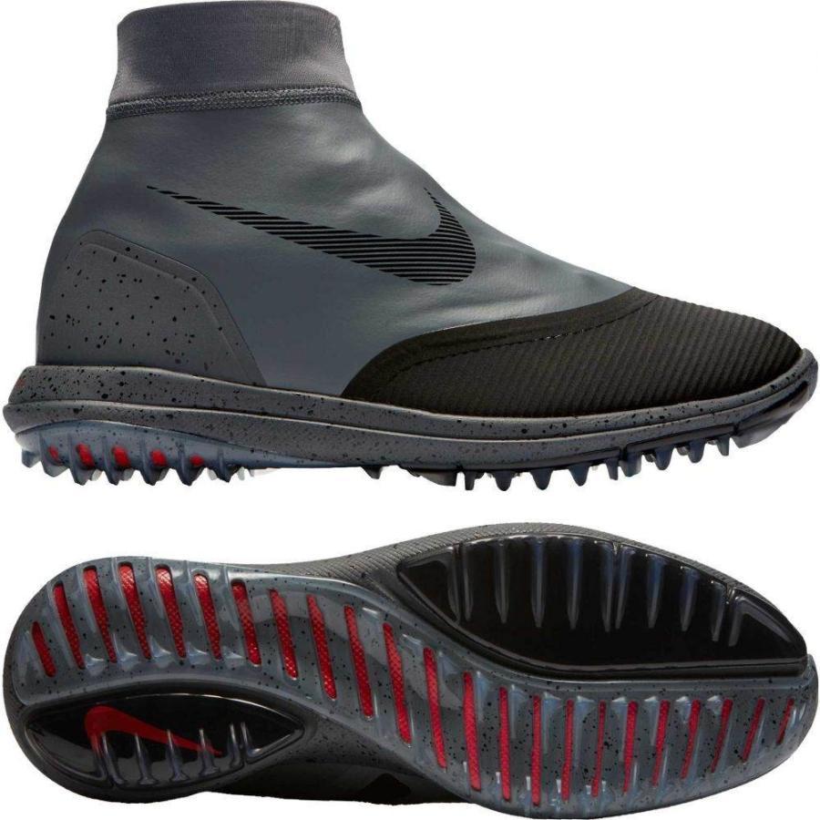 ナイキ Nike メンズ シューズ・靴 ゴルフ Lunar VaporStorm Golf Shoes Dark グレー/Gym 赤/ピンク