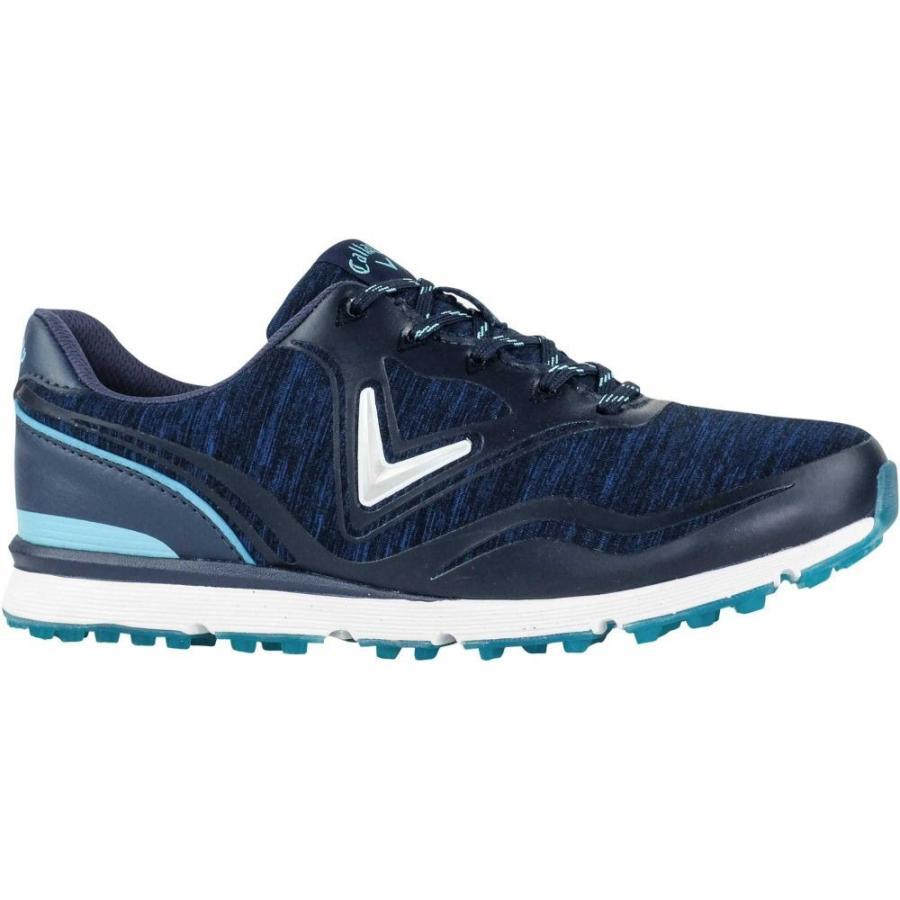 キャロウェイ Callaway レディース ゴルフ シューズ・靴 solaire golf shoes Navy/青