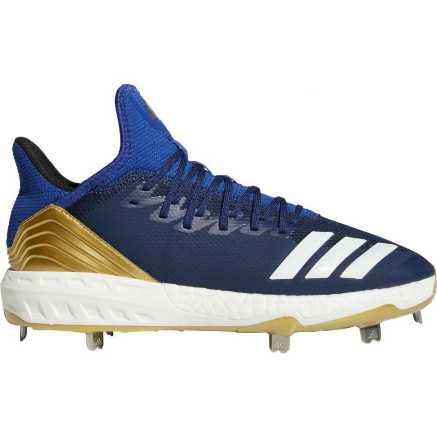 アディダス adidas メンズ 野球 スパイク シューズ・靴 icon 4 metal baseball cleats Navy/ゴールド
