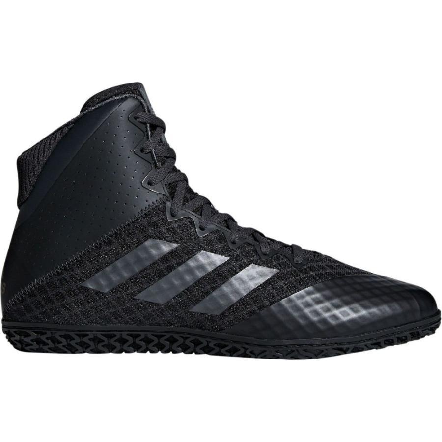 アディダス adidas メンズ シューズ・靴 レスリング Mat Wizard 4 Wrestling Shoes 黒/黒