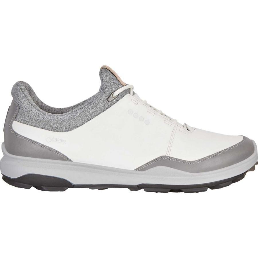 エコー ECCO メンズ ゴルフ シューズ・靴 biom hybrid 3 gtx golf shoes White/Black