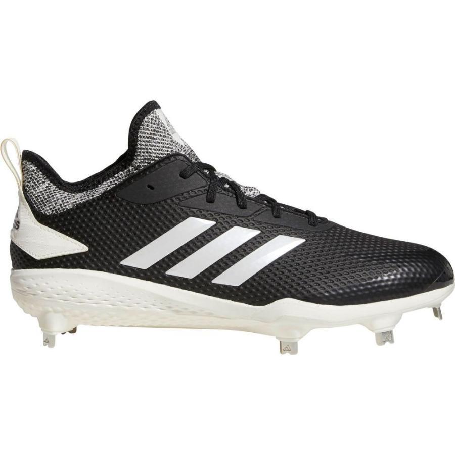 アディダス adidas メンズ 野球 スパイク シューズ・靴 adizero afterburner v metal baseball cleats 黒/白い