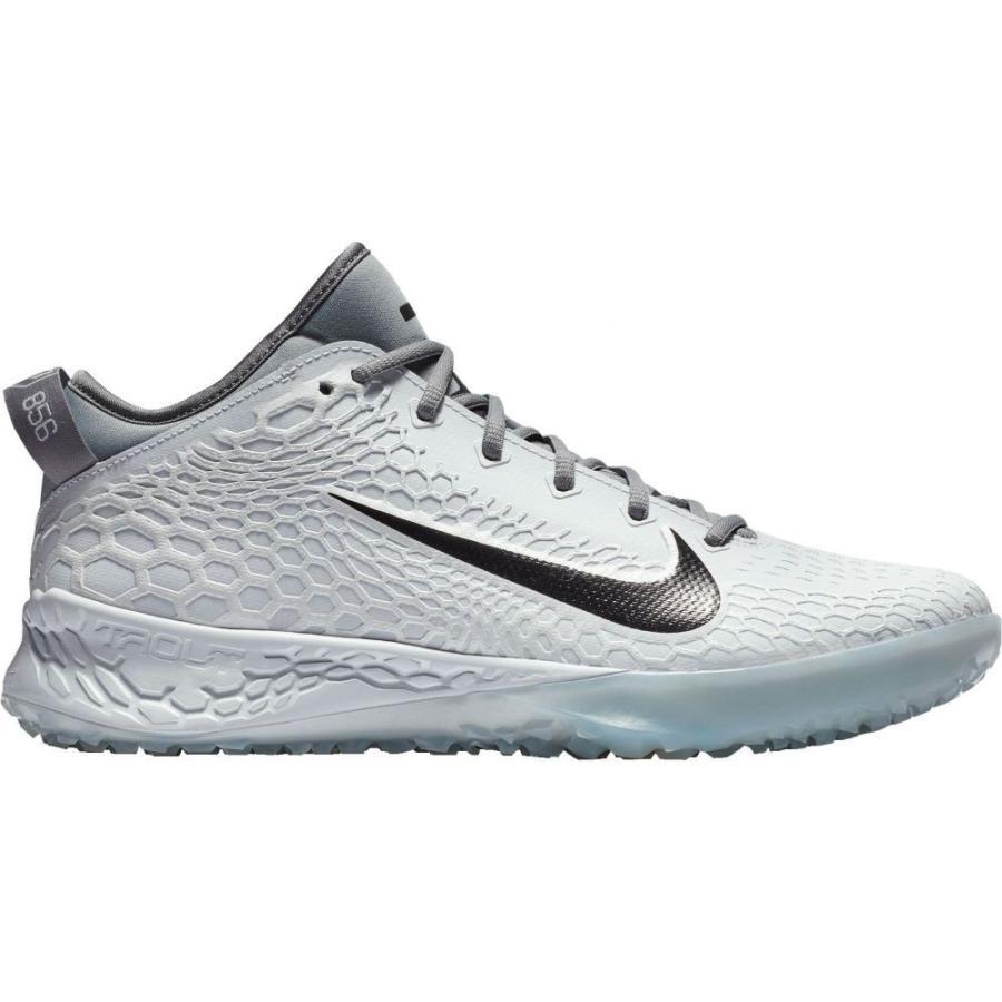 ナイキ Nike メンズ 野球 スパイク シューズ・靴 force zoom trout 5 turf baseball cleats グレー/黒