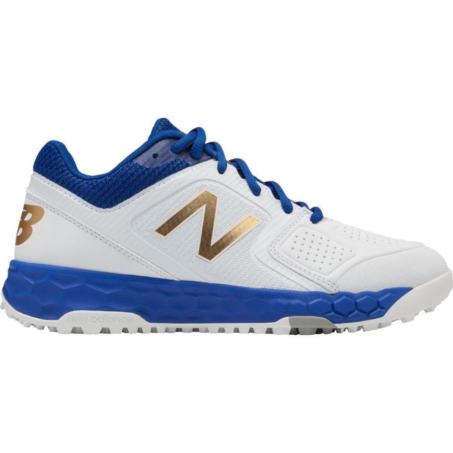 ニューバランス New Balance レディース 野球 スパイク シューズ・靴 fresh foam velo 1 turf softball cleats 白い/Royal