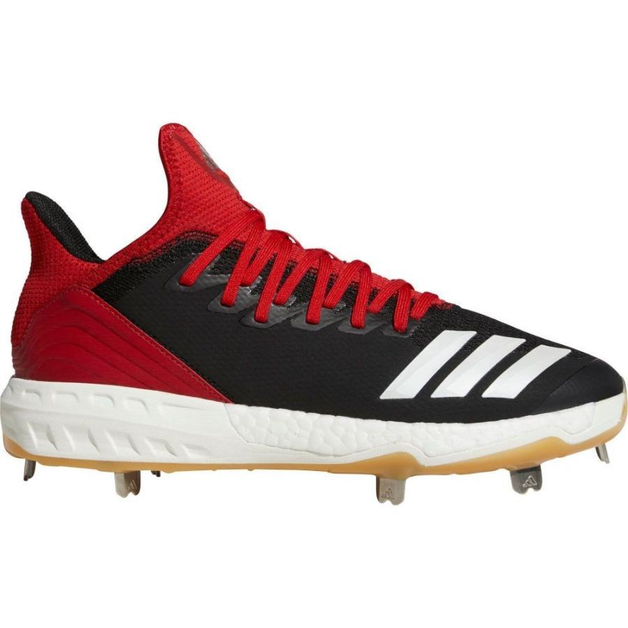 アディダス adidas メンズ 野球 スパイク シューズ・靴 icon 4 gum metal baseball cleats 黒/赤