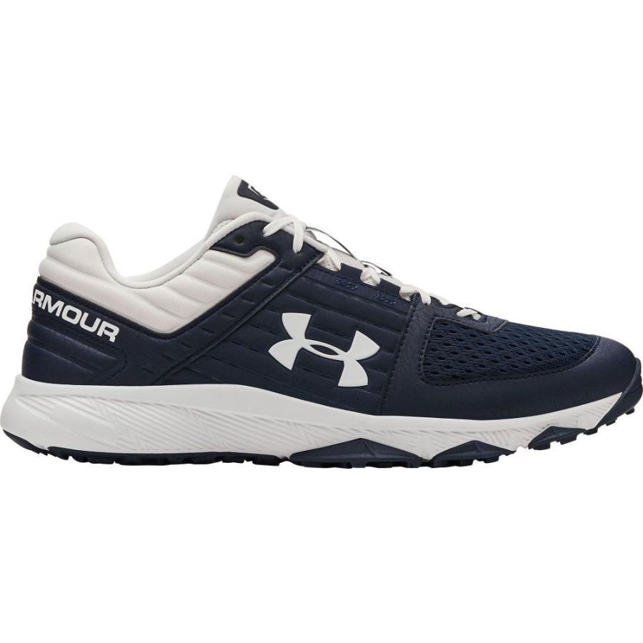 アンダーアーマー Under Armour メンズ 野球 シューズ・靴 yard baseball turf shoes Navy/白い