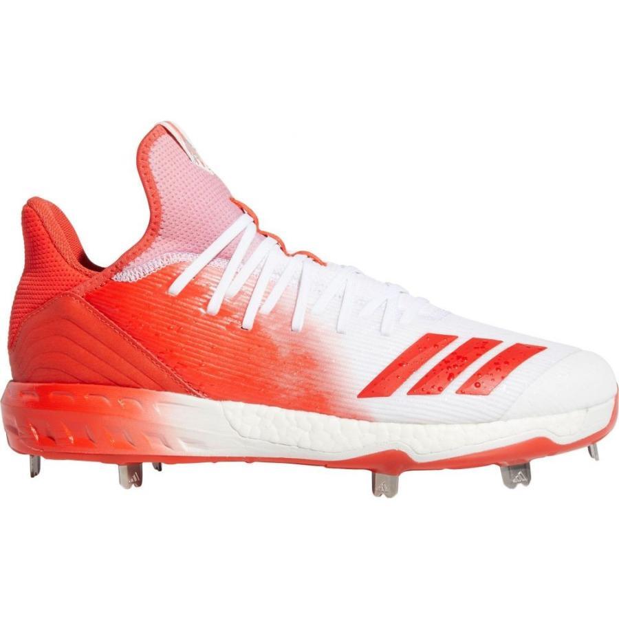 アディダス adidas メンズ 野球 スパイク シューズ・靴 icon 4 splash metal baseball cleats 赤/白い