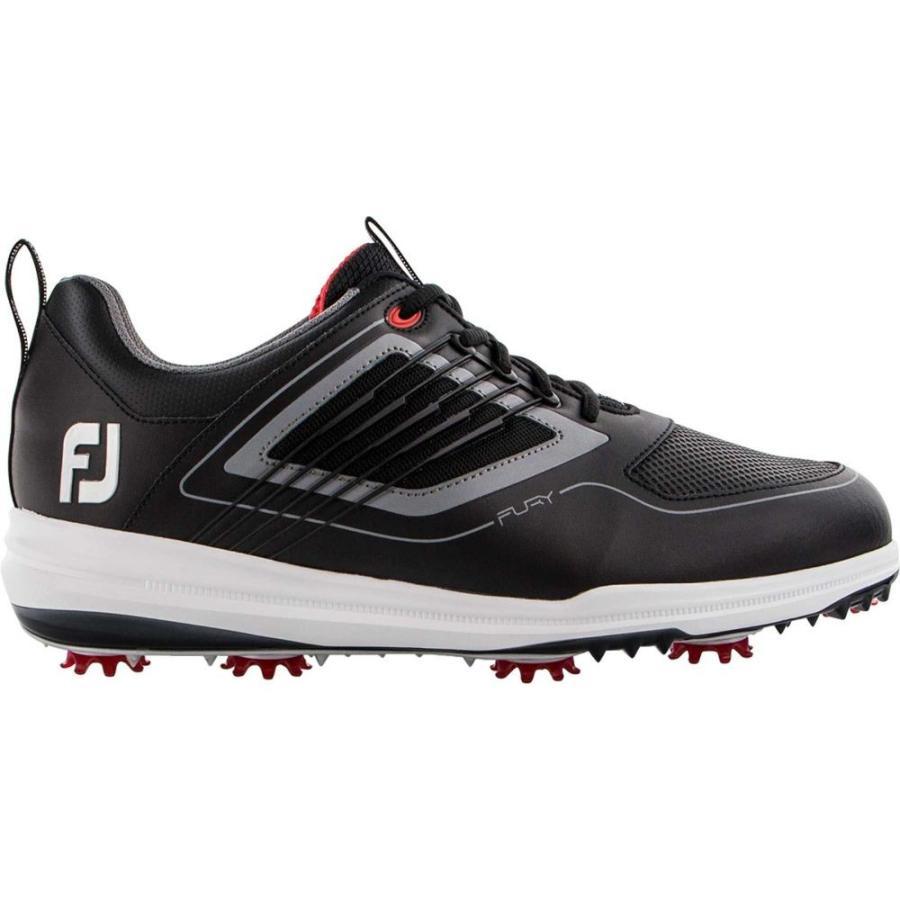 フットジョイ FootJoy メンズ ゴルフ シューズ・靴 fury golf shoes 黒/赤