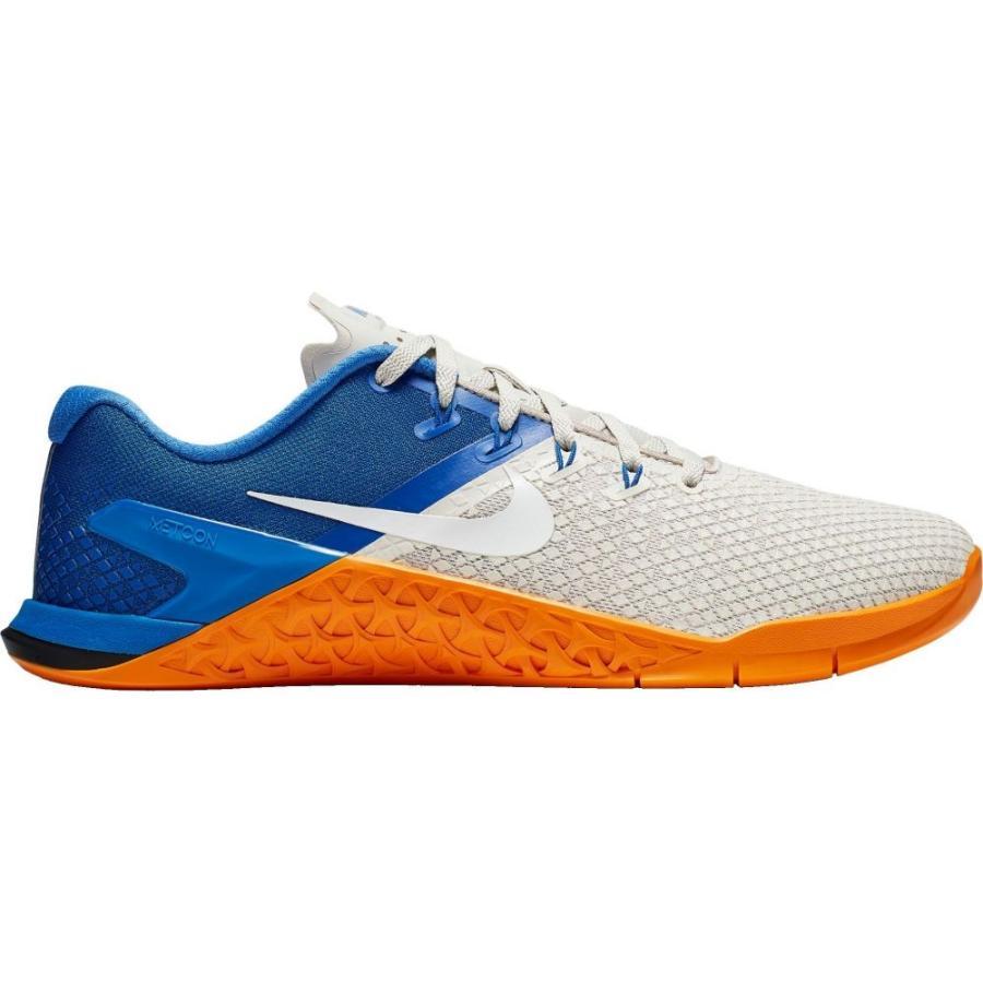 ナイキ Nike メンズ フィットネス・トレーニング シューズ・靴 metcon 4 xd training shoes 青/グレー/オレンジ