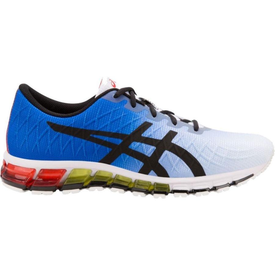 アシックス ASICS メンズ ランニング・ウォーキング シューズ・靴 gel-quantum 180 4 running shoes 白い/青/赤