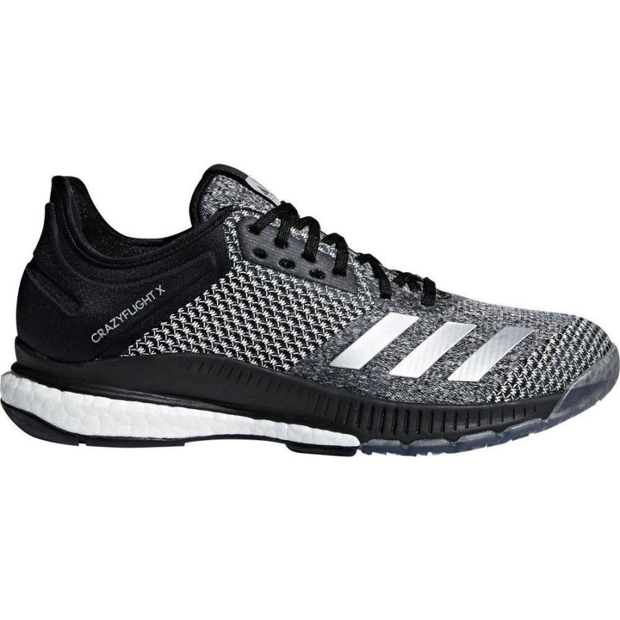 アディダス adidas レディース バレーボール シューズ・靴 crazyflight x 2.0 volleyball shoes 黒/銀/白い